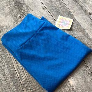 LuLaRoe Skirts - Lularoe Blue Cassie Skirt L